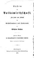 Bd  National  konomik des Ackerbaues und der verwandten urproduktion     8  verm  Aufl  1875 PDF