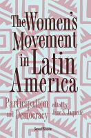 The Women s Movement In Latin America PDF