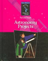 Astronomy Projects PDF