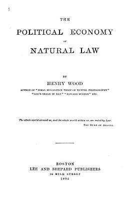 The Political Economy of Natural Law PDF