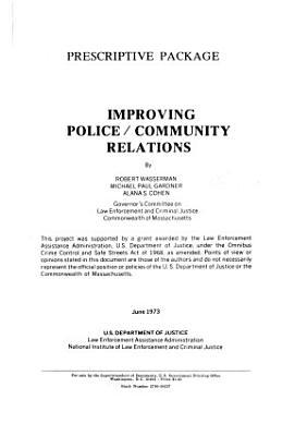 Improving Police community Relations PDF