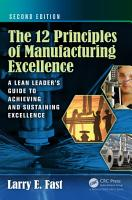The 12 Principles of Manufacturing Excellence PDF