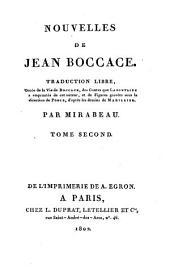Nouvelles de Jean Boccace: Volume2