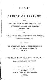 History of the Church of Ireland ...