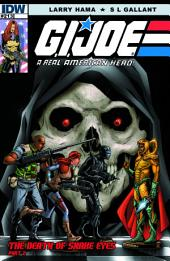 G.I. Joe: A Real American Hero #213: The Death of Snake Eyes: Part 2
