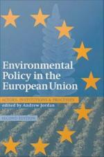 Environmental Policy in the European Union