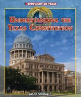 Understanding the Texas Constitution PDF