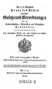 Welcher die Verordnungen vom 1. Januar bis letzten December 1820 enthält: Volume 48