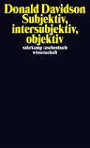 Subjektiv  intersubjektiv  objektiv PDF
