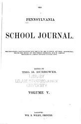 The Pennsylvania School Journal Book PDF