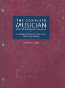 The Complete musician student workbook  volume 11