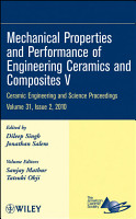 Mechanical Properties and Performance of Engineering Ceramics and Composites V PDF