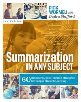 Summarization in Any Subject PDF