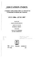 The Education Index PDF