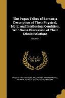 PAGAN TRIBES OF BORNEO A DESCR