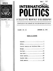 International Politics PDF