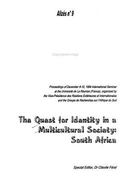 The Quest for Identity in a Multicultural Society PDF