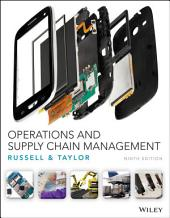 Operations and Supply Chain Management: Edition 9