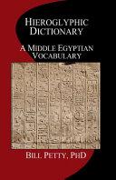 Download Hieroglyphic Dictionary Book