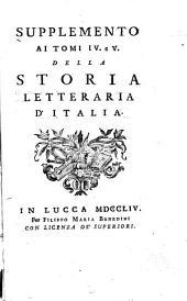 Storia Letteraria D'Italia: Volume 13