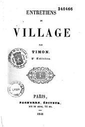 Entretiens de village