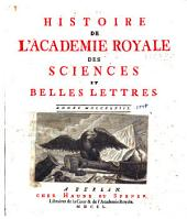 Mémoires de l'Académie des sciences de Berlin: Volume 4