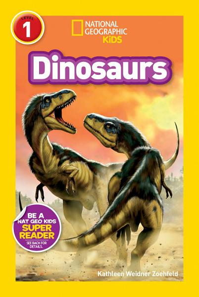 Download National Geographic Readers  Dinosaurs Book