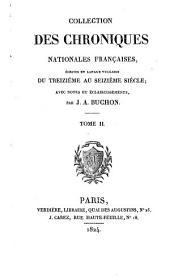Chroniques d'Enguerrand de Monstrelet: Volume2