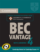 Cambridge BEC 4 Vantage Student s Book with Answers PDF