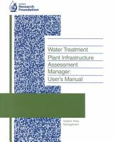 Water Treatment Plant Infrastructure Assessment Manager PDF