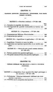 Cours d'algèbre a l'usage des aspirants à l'École Polytechnique et des Écoles d'Artillerie et de Marine
