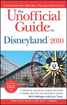 The Unofficial Guide to Disneyland 2010 PDF