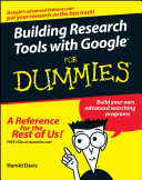 Building Research Tools with Google For Dummies PDF