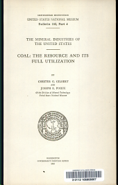Coal: the resource and its full utilization
