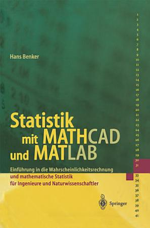 Statistik mit MATHCAD und MATLAB PDF