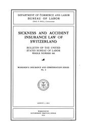 Sickness and Accident Insurance Law of Switzerland ...