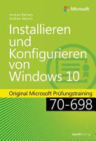 Installieren und Konfigurieren von Windows 10 PDF