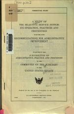 A Study of the Selective Service System