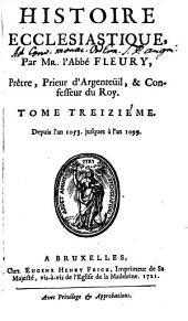 Histoire Ecclesiastique: Depuis l'an 1053. jusques à l'an 1099, Volume13
