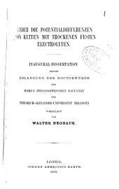 Dissertationen: Band 11