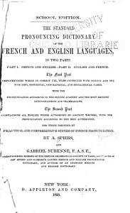 The Standard Pronouncing Dictionary of the French and English Languages     PDF