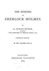 The Memoirs of Sherlock Holmes: Volume 2