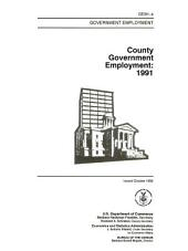 County government employment in ...
