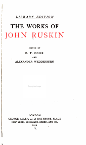 The Works of John Ruskin: Volume 39