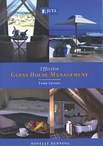 Effective Guest House Management Book