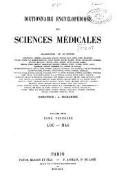 Dictionnaire encyclopédique des sciences médicales: publié sous la direction de MM. les docteurs Raige-Delorme et A. Dechambre, Volume55