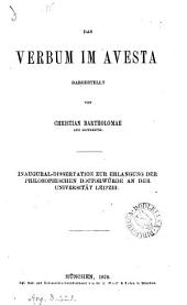 Das Verbum im Avesta