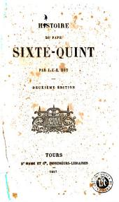 Histoire du pape Sixte-Quint