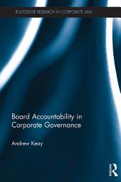 Board Accountability in Corporate Governance
