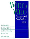 Who s Who in Managed Health Care PDF